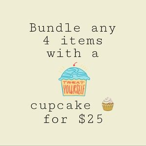 Bundle 4 🧁 pieces for $25!!!